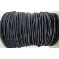 3mm Bungee Cord Elastic- Black #133