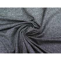 Glitter Viscose Knit- Midnight #2405