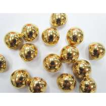 22mm Gold Domed Fashion Buttons FB136