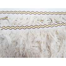 45mm Navada Natural Cotton Fringe #140