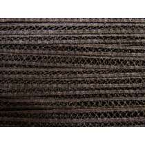 13mm Lace tape Trim- Chocolate Wafer #159