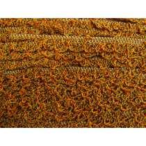 20mm Crochet Look Ruffle Elastic Trim- Autumn Leaves #174