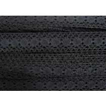 25mm Midnight Moon Cotton Lace Trim #186