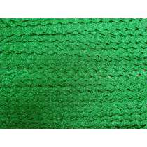 6mm Metallic Green Ric Rac Trim #191