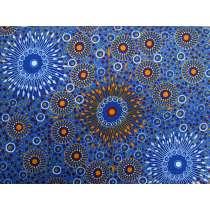 Onion Dreaming Cotton- Copper Blue