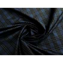 Midnight Blue Tartan Check Cotton #2533