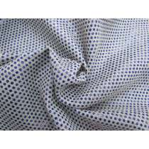 Blue Light Disco Linen Blend Suiting #2563