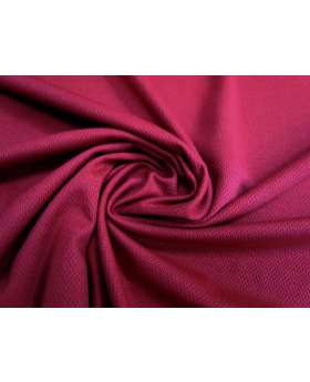 Cotton Sports Plus Micro Eyelet Knit- Cranberry #2620