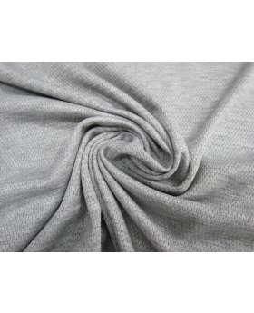Cotton Sports Plus Micro Eyelet Knit- Light Grey #2622