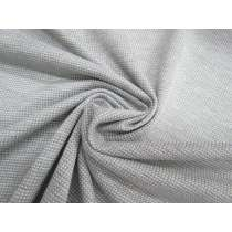 Textured Sports Knit- Grey Marle #2669