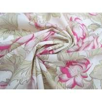 Antique Floral Cotton Voile #2685