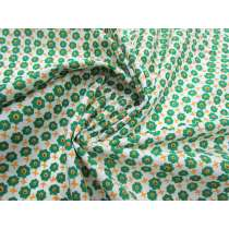 Garden Bed Cotton Voile- Green #2691