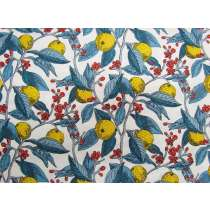 Liberty Cotton- Conservatory Fruits- Yellow- The Summer House Collection
