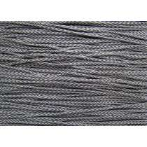 3mm Chevron Cord- Grey #214
