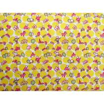 30s Story Book Cotton- yellow #2705