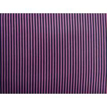 A Day In The Country Festival Stripe- Black / Purple #2759