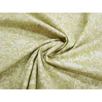 Imperial Fanfare Cotton Quilt Backing- 270cm Wide- Beige #2761