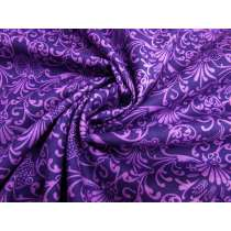 Imperial Fanfare Cotton Quilt Backing- 270cm Wide- Purple #2763