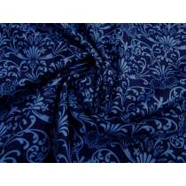 Imperial Fanfare Cotton Quilt Backing- 270cm Wide- Royal Blue #2764