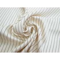 Chic Stripe Heavy Viscose Twill Lining #2774