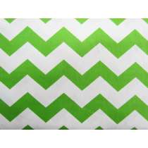 Chevron Cotton- Lime #2791