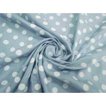 Spot Chambray- Light Blue #2818