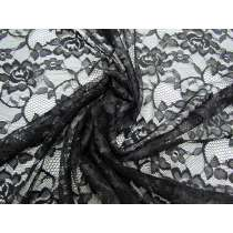Lightweight Floral Lace- Belladonna Black #2858
