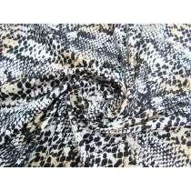 Snake Skin Animal Print Spandex #2928