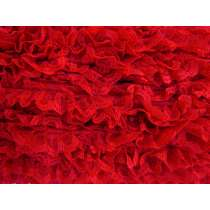 27mm Ariana Lace Frill Trim- Red #286