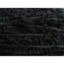 24mm Penelope Lace Frill Trim- Black #288