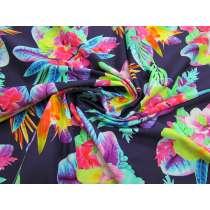 Tahiti Floral Spandex- Violet #2967