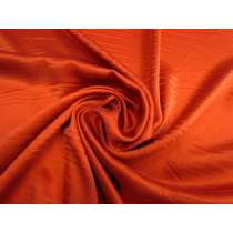 Sandwashed Silk Satin- Papaya Orange #2985