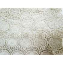60mm Metallic Lace- Antique Silver #299