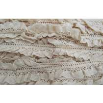 27mm Hailey Stretch Cotton Frill Trim #310
