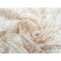 Snake Print Silk Chiffon #3007