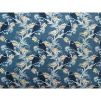Forget Me Not Cotton- Navy Birds #3113