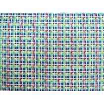 30's Minis Cotton- Blue Check #3131