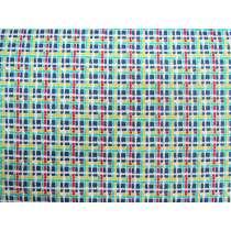 30's Minis Cotton- Blue Check #3131