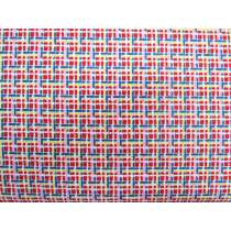 30's Minis Cotton- Red Check #3132