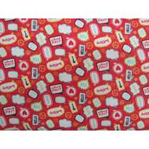 Little Flyers Cotton- Red #3139