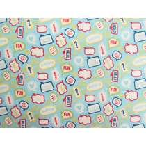 Little Flyers Cotton- Blue #3140