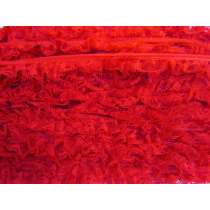 20mm Layla Lace Frill Trim- Red #346