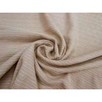 Rustic Weave Cotton Viscose- Cafe Latte #3336