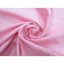 2mm Mini Gingham Cotton- Hot Pink #3282