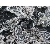 Textured Desert Flowers Jersey #3326