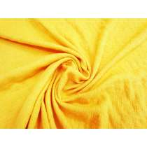 Natural Texture Cotton Blend Stretch Woven- Sunshine #3331
