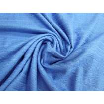 Soft Textured Weave Cotton Viscose- Idyllic Blue #3338