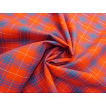 Cheerful Check Tartan Cotton #3343