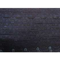 40mm Stretch Lace Trim- Midnight Dream #356