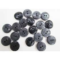 20mm Navy Fashion Button FB173